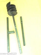 200 1,50mètres tarière à main perceuse de puits Tariere Auger Drill foret