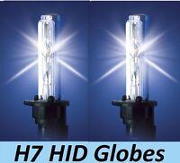 1 pr- H7 HID Globes Bulbs 35W 55W 70W 12v 24v 4300K or 6000K or 8000K or 10000K