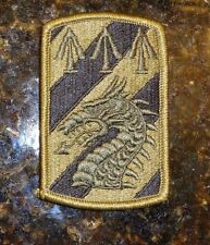ARMY PATCH,SSI, MULTICAM, OCP,SCORPION, 3RD SUSTAINMENT BRIGADE,WITH HOOK LOOP