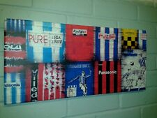 Huddersfield Town Retro Shirt Canvas *NEW* Original Framed Varnished