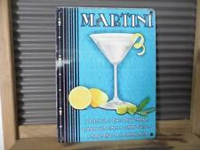 FABULOUS VINTAGE ART DECO STYLE METAL WALL SIGN PLAQUE MARTINI COCKTAIL RECIPE