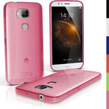 Étuis, housses et coques roses transparentes pour téléphone mobile et assistant personnel (PDA) Huawei