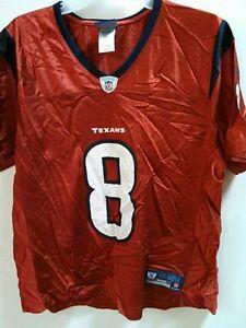 Reebok Women's NFL Jersey Houston Texans Schaub Red Alternate sz XL