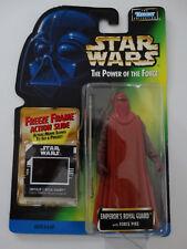 1997 Star Wars POTF Emperors Royal Guard Freeze Frame Action Slide Action Figure