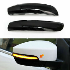 2Pcs Door Wing Mirror LED Indicator Turn Signal Lights Fit for Ford Kuga/Escape