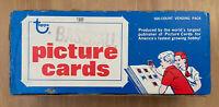 VINTAGE 1981 TOPPS BASEBALL VENDING BOX 500 CARDS, POSSIBLE VALENZUELA RC