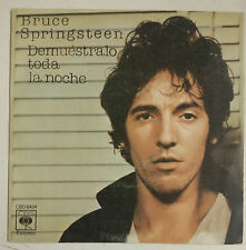 """Bruce Springsteen Demuestralo Toda La Noche Single 7"""" Spain 1978"""