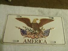 VINTAGE booster license plate vanity America collectable