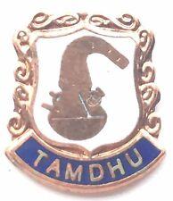 Tamdhu Whisky Distillery Scotland Small Enamel Lapel Pin Badge T0128
