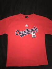 Adidas St Louis Cardinals Red T-Shirt Boys Size XLarge