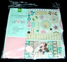 Making Memories 10 x 10 Calendar Kit All Occasion Any Year 450+ pieces