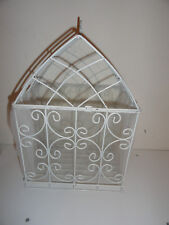 "BEAUTIFUL WHITE WEDDING CARD HOLDER 10"" X 14"""