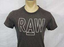 Mens G-Star Raw Basswood gray crewneck t-shirt size Medium
