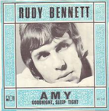 """RUDY BENNETT - Amy (1968 NEDERPOP VINYL SINGLE 7"""" 45 DUTCH PS)"""