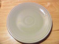 Fiesta genuine gray bread butter plate Homer Laughlin 6 1/2 inch mint grey