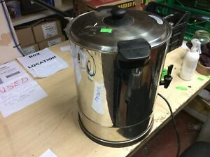 Catering Hot Water Boiler Tea Urn + Coffee - Stainless Steel USM338 11122