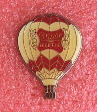 Pins MONTGOLFIÈRE Bière MILLER Hot Air Balloon Ballonfahren Ballon Badge