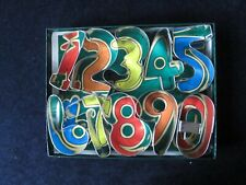 New listing Cookie Cutters, Numbers 1-10