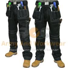 2 x Work Trouser Workwear Multi Pocket Trade Extreme Pro Pants Tripe Stitched