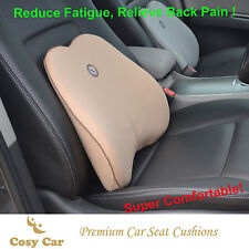 Back Cushion, Lumbar Support, Ergonomic Cushion, Memory Foam, COMFI APPLE