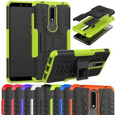 For Nokia 2.3/2.1/5.1/6.1/7.1/2.2 Plus Shockproof Rugged Armor Stand Cover Case