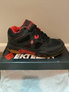 NEW Ektelon Racquetball Shoes NFS Attack Mid Black size US Mens size 10