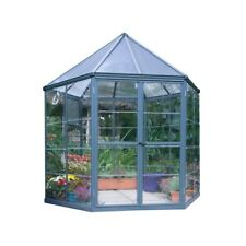 Palram Hg6000 Oasis Hex Greenhouse - 7 x 8 ft.