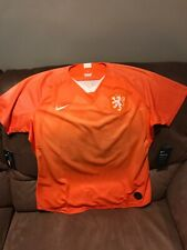 Nike Netherlands Orange Soccer Jersey Msrp$90.00 NWT Size XL Womens