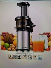 Aobosi Slow Masticating juicer extractor, cold press juicer machine