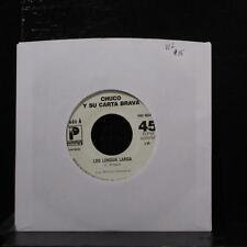 """Chuco Y Su Carta Brava - Los Lengua Larga 7"""" VG+ Vinyl 45 PRS 90249 USA 1987"""