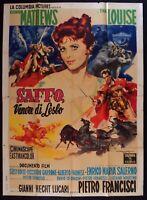 M231 Manifesto 4F Safo , Venus Por Lésbico Tina Louise Pietro Francisci 1960