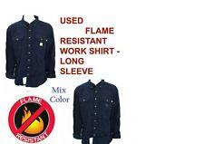 2536b51ed91 Used Flame Resistant FR Work Shirts Cintas