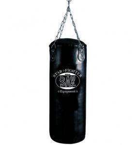 BAY® STAR light weight Damen Frauen 80cm 20 kg gefüllt Sandsack Boxsack schwarz