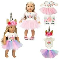 """Doll Clothes Dress Outfits Set For 18""""inch Our Generation American Girl Dolls UK"""