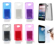 """Cover Custodia Gel Silicone Per Alcatel POP 4S (4G) 5.5"""" + Protezione Opzionale"""