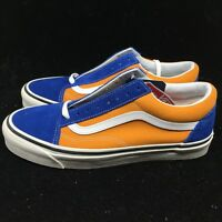 Vans Men's Shoes Anaheim Factory Old Skool 36 DX OG Blue/OG Saffron VN0A38G2R1V