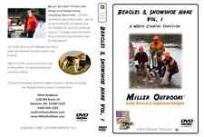 RABBIT HUNTING Video DVD ~ BEAGLES & Snowshoe Hare Vol. 1 * Miller Outdoors Hunt