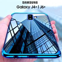 COVER per Samsung Galaxy J4+/J6+ PLUS Tpu ORIGINALE ELECTROPLATING SLIM Case