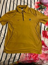 Vanderbilt University Vandy Commodores Nike Dri Fit mens Large Polo shirt NCAA