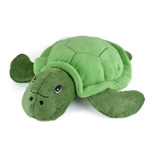 Hot Water Bottle with Novelty Plush Turtle Cover