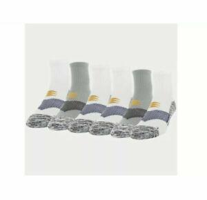 NWT PowerSox by Goldtoe Men's Strategic Cushion Ankle Socks Size 6-12.5