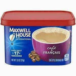 Maxwell House International Cafe Francais Instant Coffee (7.6 oz Pack of 4)