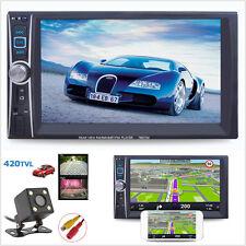 7'' HD 2Din Car MP5 Player Touch Screen Bluetooth Phone Link FM Radio USB+Camera
