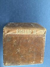 Miniature Shakespeare Book King Richard II 1905 Anthony Treherne & Co London