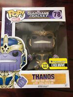 New Limited Ed Funko Guardians of the Galaxy Thanos Glow in the Dark 6-inch Pop!
