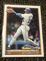 Ken Griffey Jr. 1991 Topps 40 Years of Baseball Card #790 In MINT CONDITION!!