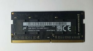 Micron 4GB 1x4GB 1Rx16 PC4 2400T MTA4ATF51264HZ-2G3B2 DDR4 260Pin Laptop