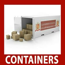 Rail Freight Shipping Containers 48ft OO Gauge 1:76