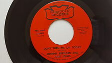 JOHNNY BERNARD & JULIE JONES Don't Turn Me On Today PRIVATE '73 COUNTRY Oklahoma