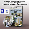 3D CAD HOME & OFFICE DESIGN - KITCHEN BATHROOM STUDY - SOFTWARE DVD